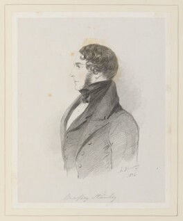 Sir William Stanley-Massey-Stanley, 10th Bt, by Richard James Lane, after  Alfred, Count D'Orsay - NPG D45929