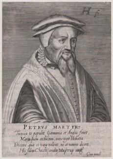Pietro Vermigli, by Hendrik Hondius (Hond) - NPG D45997