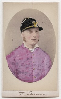Thomas ('Tom') Cannon Sr, by Eugenio Martinucci, for  Lombardi & Co, published by  W.A. Wright - NPG Ax199177