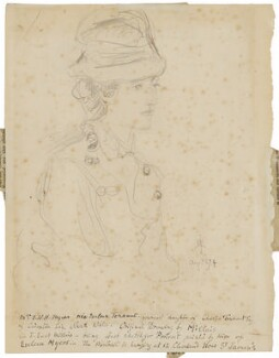 Eveleen Myers (née Tennant), by Sir John Everett Millais, 1st Bt - NPG D46002