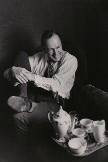 Ned Sherrin, by Neil Libbert - NPG x199188