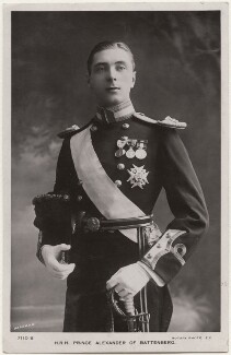 Alexander Albert Mountbatten, 1st Marquess of Carisbrooke, by Bassano Ltd, published by  Rotary Photographic Co Ltd - NPG x196924