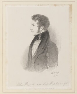 John Ponsonby, 5th Earl of Bessborough, by Richard James Lane, published by  John Mitchell, after  Alfred, Count D'Orsay - NPG D45935