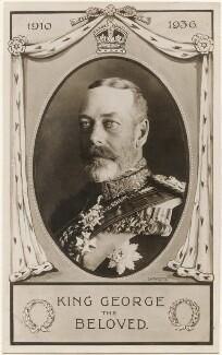 'King George The Beloved' (King George V), published by Millar & Lang Ltd, after  Lafayette - NPG x196943