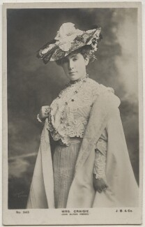 John Oliver Hobbes (Pearl Mary Teresa Craigie (née Richards)), by Lafayette, published by  J. Beagles & Co - NPG x196946