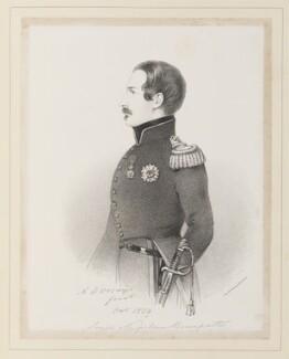 Napoléon III, Emperor of France, by Richard James Lane, printed by  Lemercier Bernard et Cie, after  Alfred, Count D'Orsay - NPG D45942