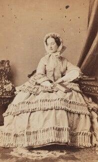 Eugénie, Empress of France, by Disdéri - NPG Ax196524