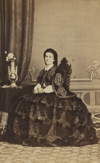 Maria Sophie, Queen of the Two Sicilies, by Fratelli D'Alessandri - NPG Ax196526