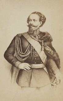 Victor Emmanuel II, King of Italy, by Unknown photographer - NPG Ax196527