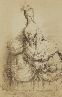 Marie Antoinette of France, by Unknown photographer - NPG Ax196531