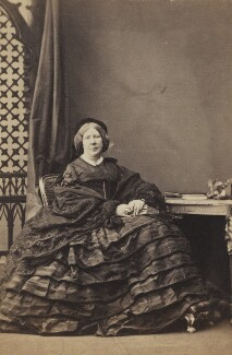 Mary Bids Tottenham (née Synge), by Camille Silvy - NPG Ax196553