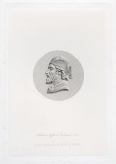 William Gifford Palgrave, by Charles Henry Jeens, after  Thomas Woolner - NPG D46008