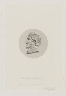William Gifford Palgrave, by Charles Henry Jeens, after  Thomas Woolner - NPG D46009