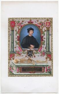 John Colet, after Sir William Segar - NPG D46010