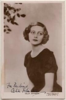 Dame Celia Johnson, by Paul Tanqueray - NPG x198152