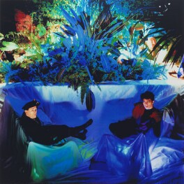 The Associates (Billy Mackenzie; Alan Rankine), by Peter Ashworth - NPG x199204