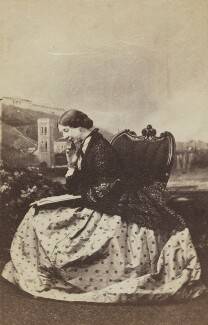 Georgiana Mary Thomas (née Hely-Hutchinson), by Unknown photographer - NPG Ax196558