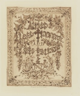Frontispiece to 'Alfred, Lord Tennyson and his Friends', by W.A. Smith, published by  T. Fisher Unwin - NPG Ax199208