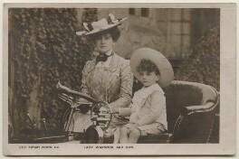 Frances Evelyn ('Daisy') Greville (née Maynard), Countess of Warwick; Hon. Maynard Greville, by Lafayette, published by  Rotary Photographic Co Ltd - NPG x198161