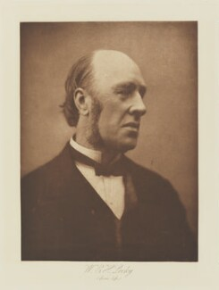 (William) Edward Hartpole Lecky, by Henry Herschel Hay Cameron (later The Cameron Studio), published by  T. Fisher Unwin - NPG Ax29147