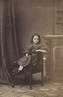 Helen Georgina Atkinson (née Brown), by Unknown photographer - NPG Ax196580