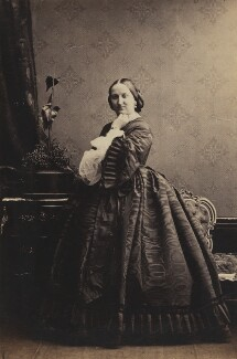 Constance Helena (née Abercromby), Countess of Seafield, by Camille Silvy - NPG Ax196588