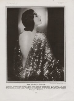 Juliette Compton in 'The Scarlet Pimpernel', by Paul Tanqueray - NPG x193444