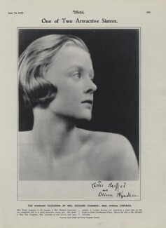 Teresa ('Baby') Jungman (later Cuthbertson), by Curtis Moffat, by  Olivia Wyndham - NPG x193448