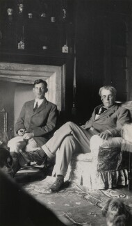 Siegfried Sassoon; W.B. Yeats, by Lady Ottoline Morrell - NPG x144308