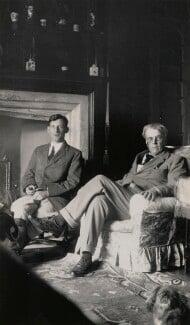 Siegfried Sassoon; W.B. Yeats, by Lady Ottoline Morrell - NPG x144308