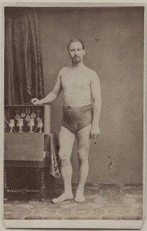 Unknown athlete, published by George Newbold - NPG Ax47090