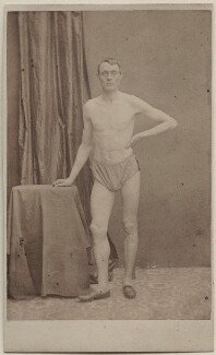 Unknown athlete, published by George Newbold - NPG Ax47096