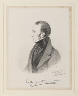 Lord Dudley Coutts Stuart, by Richard James Lane, after  Alfred, Count D'Orsay - NPG D45952