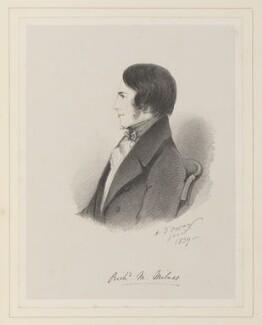 Richard Monckton Milnes, 1st Baron Houghton, by Richard James Lane, after  Alfred, Count D'Orsay - NPG D45953