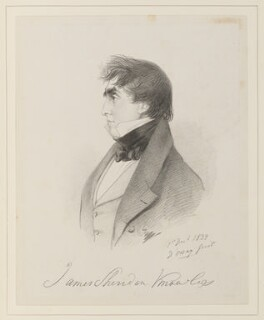 James Sheridan Knowles, by Richard James Lane, after  Alfred, Count D'Orsay - NPG D45956