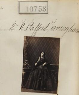 Eglantina Narcissa Stafford Jerningham (née Elmore), by Camille Silvy - NPG Ax60460