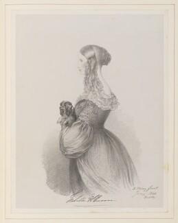 Hon. Isabella Elizabeth Annabella Anson (née Forester), by Richard James Lane, after  Alfred, Count D'Orsay - NPG D45961