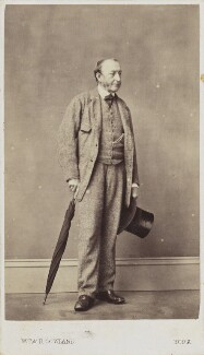 Unknown man, by W.T. & R. Gowland (William Thomas Gowland & Robert Gowland) - NPG Ax68091