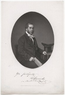 Richard Garrett, by J.B. Hunt, published by  Rogerson & Tuxford, after  Cundall & Co - NPG D46014