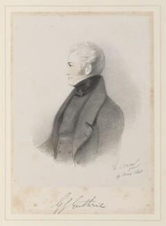 George James Guthrie, by Richard James Lane, after  Alfred, Count D'Orsay - NPG D45962