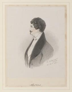 Alfred, Baron de Vidil, by Richard James Lane, after  Alfred, Count D'Orsay - NPG D45964