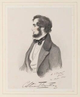 Hon. Charles Stuart-Wortley-Mackenzie, by Richard James Lane, after  Alfred, Count D'Orsay - NPG D45971