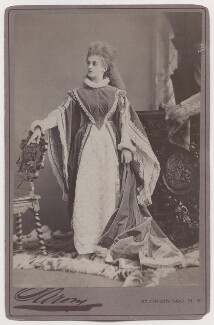Mary Frances Scott-Siddons as Princess Elizabeth in 'Twixt Axe and Crown', by Napoleon Sarony - NPG x196957