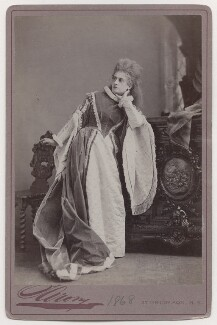 Mary Frances Scott-Siddons as Princess Elizabeth in 'Twixt Axe and Crown', by Napoleon Sarony - NPG x196958