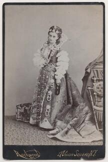 Mary Frances Scott-Siddons as Queen Elizabeth, by George Gardner Rockwood - NPG x196961