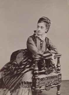 Mary Frances Scott-Siddons, by Napoleon Sarony - NPG x196969