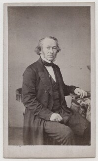 Richard Cobden, by Maujean - NPG x196971