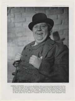 Charles Laughton, by Raymond J. Hearne - NPG x193451