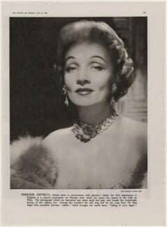 Marlene Dietrich, by John Engstead - NPG x193453