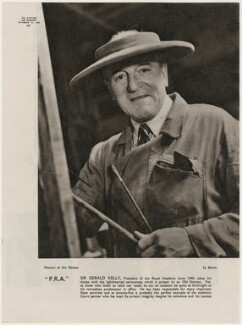 Sir Gerald Kelly, by Baron (Sterling Henry Nahum) - NPG x193456